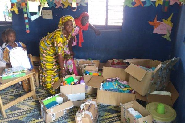 Entrega de material en Senegal 3
