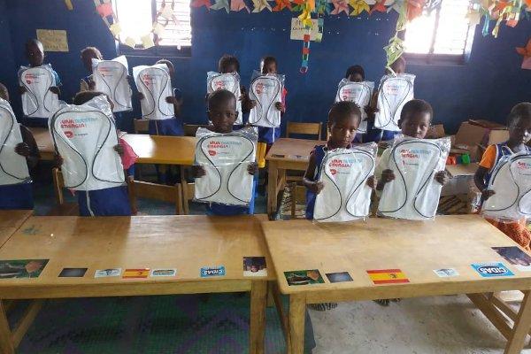 Entrega de material en Senegal 1